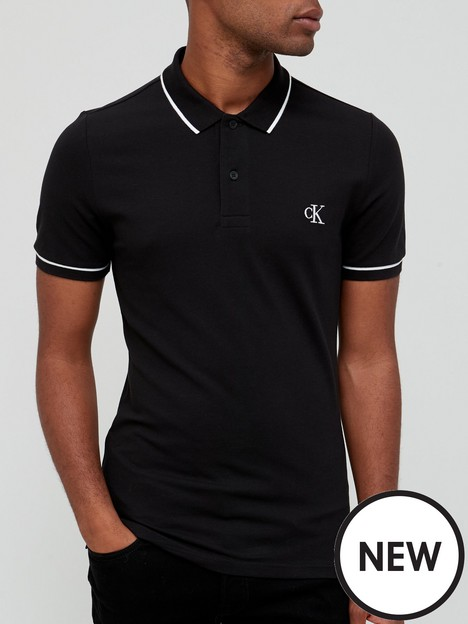 calvin-klein-jeans-tipping-slim-polo-shirt-black