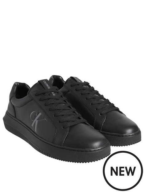 calvin-klein-jeans-chunky-cupsole-laceup-trainers-black