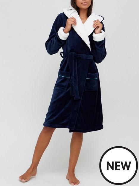 chelsea-peers-chelsea-peers-nyc-navy-fluffy-dressing-gown
