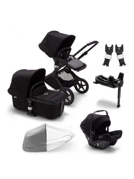 bugaboo-fox-1-pushchair-travel-system-bundle-blackgrey-melange