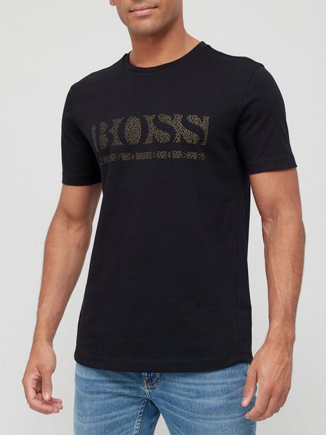 boss-pixel-1-logo-t-shirt-black