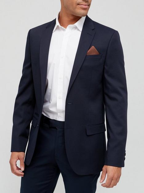 river-island-textured-slim-fit-suit-jacket-navy