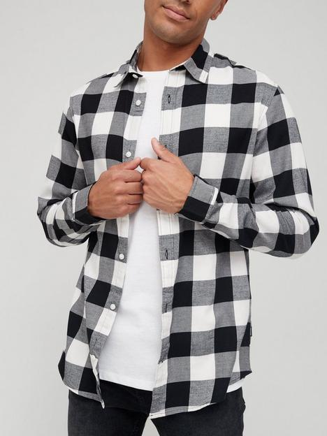 jack-jones-check-brush-cotton-shirt-multi