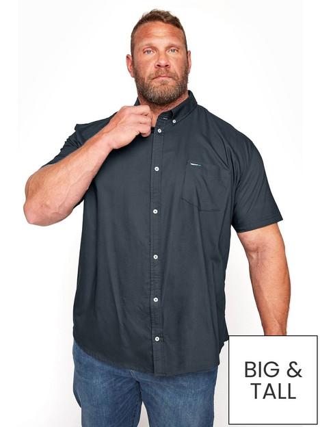 badrhino-essential-short-sleeve-poplin-shirt-black