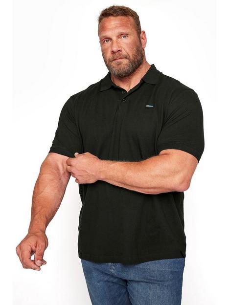 badrhino-essential-plain-polo-shirt-black