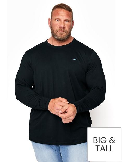 badrhino-essential-plain-long-sleeve-t-shirt-black