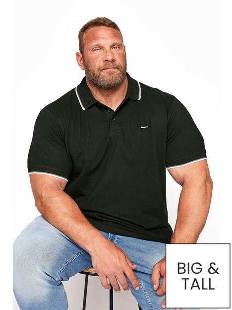 badrhino-essential-tipping-polo-shirt-black