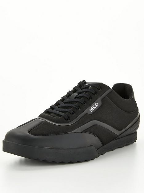 hugo-matrix-fabric-trainers-black
