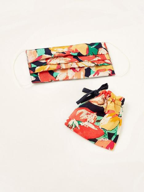 monsoon-floral-print-linen-face-covering