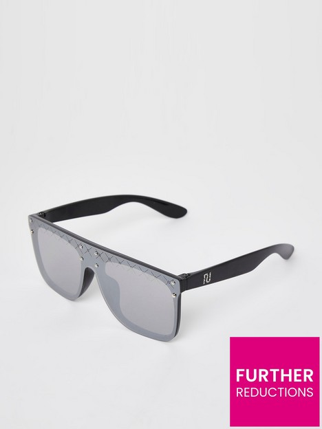 river-island-girls-dimante-sunglasses-black