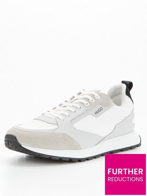 hugo-icelin-nylon-runner-trainers-grey