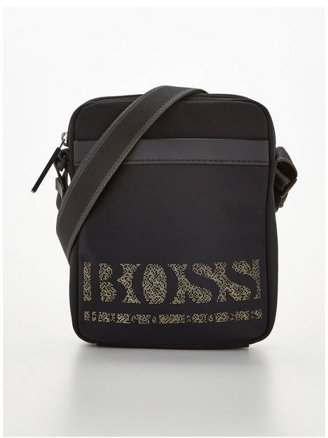 boss-magnified-pixel-logo-cross-body-bag-black