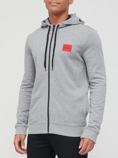 hugo-daple-red-patch-logo-zip-throughnbsphoodie-medium-grey