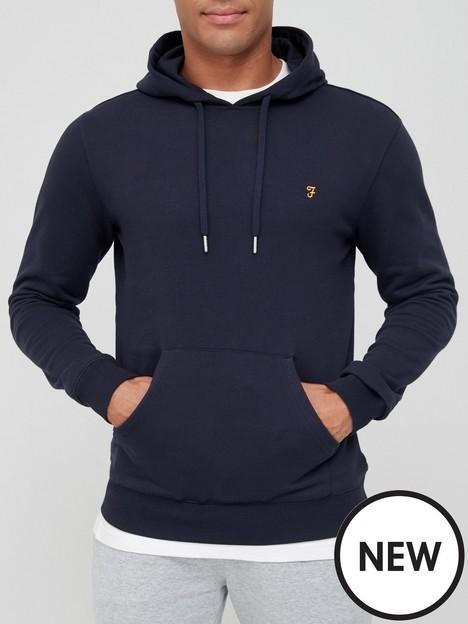 farah-organic-cotton-overhead-hoodie-navy