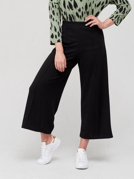 fig-basil-jersey-wide-leg-culottes-black