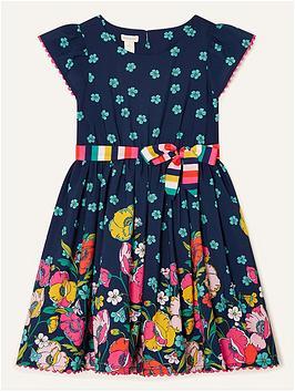 monsoon-girls-sew-geo-border-floral-dress-navy