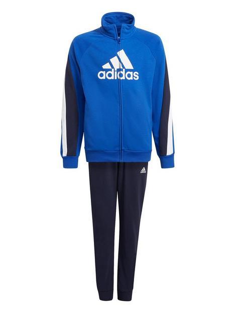 adidas-junior-boys-badge-of-sport-cotton-tracksuit-bluenavy