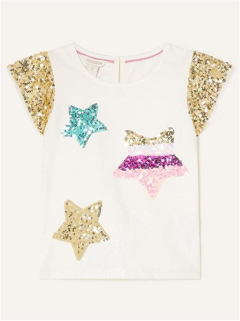 monsoon-girls-sequin-star-party-top-ivory