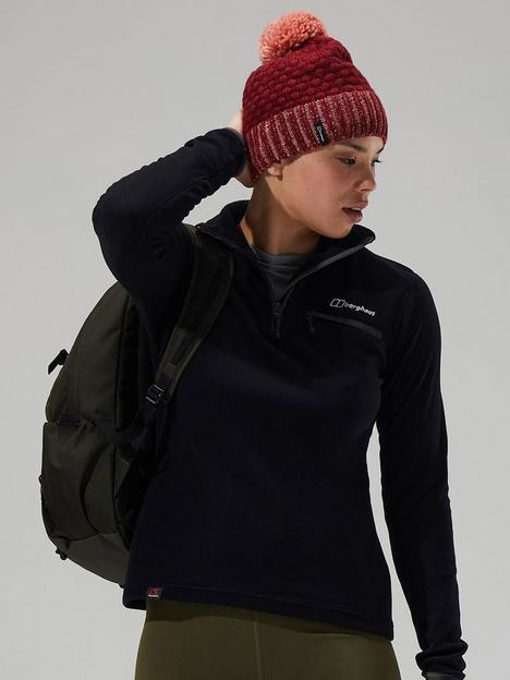 berghaus-prism-20-half-zip-micro-fleece-black