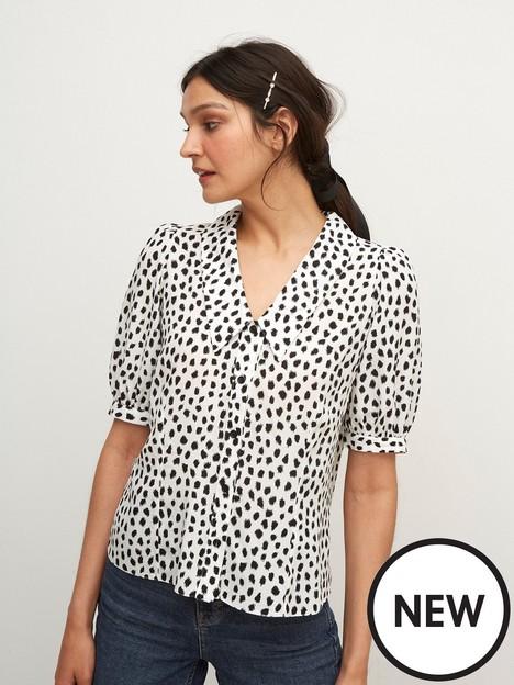 nobodys-child-sarah-abstract-blouse-white