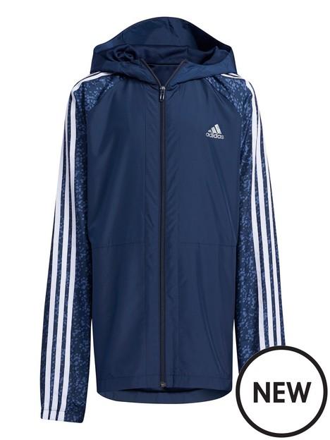 adidas-junior-unisex-woven-track-jacket-navygrey