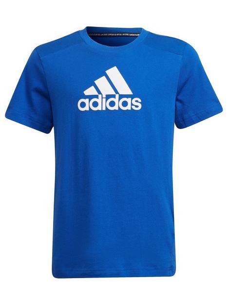 adidas-junior-boys-badge-of-sport-t-shirt-bluewhite
