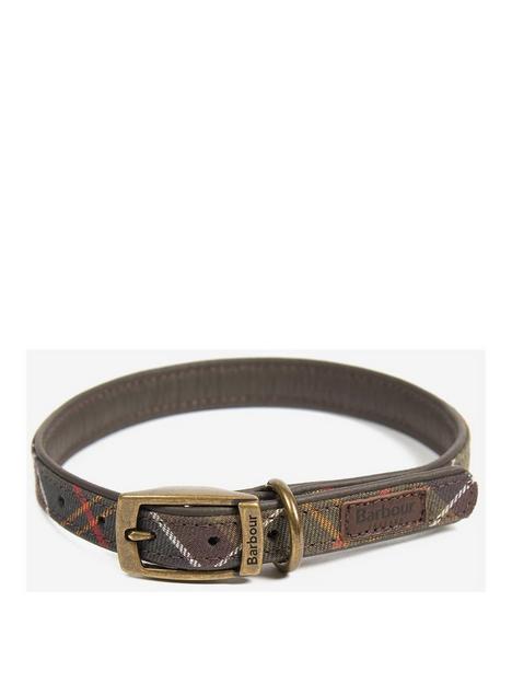 barbour-classic-tartan-dog-collar