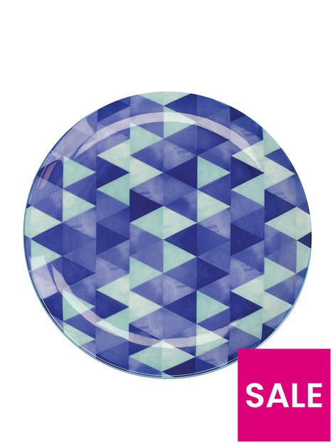 maxwell-williams-reef-triangles-side-plates-ndash-set-of-4