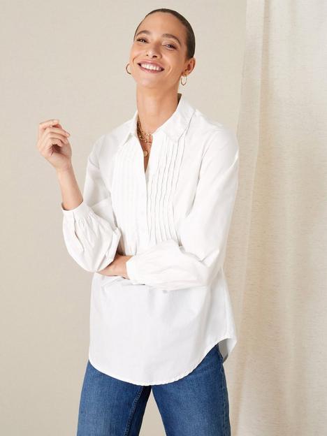 monsoon-monsoon-evalina-pintuck-cotton-poplin-shirt