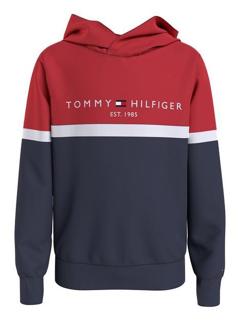 tommy-hilfiger-boys-colorblock-hoodie-set-navy