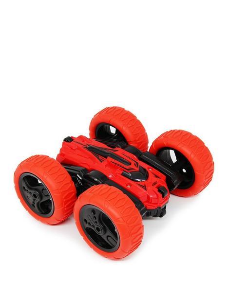 124-scale-4-wheel-stunt-remote-control-car-redblack