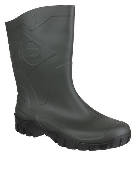 dunlop-dee-half-wellington-boots-green