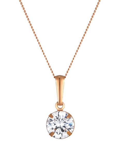love-gold-9ct-rose-gold-6mm-cubic-zirconia-solitaire-pendant-necklace