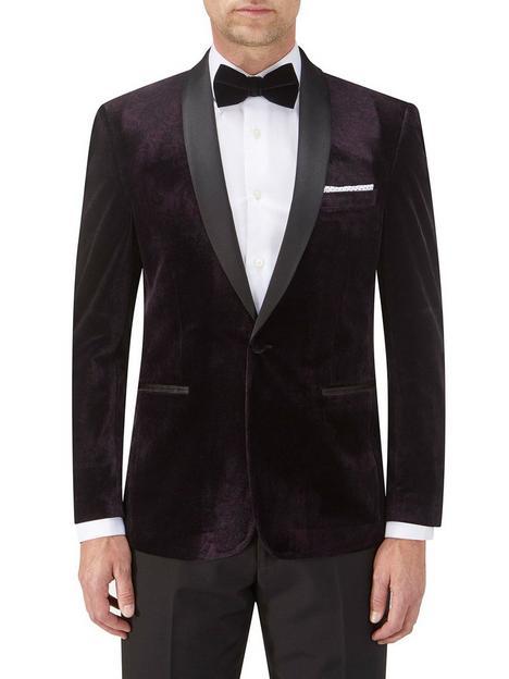 skopes-garrix-tailored-fit-velvet-tuxedo-jacket-navy