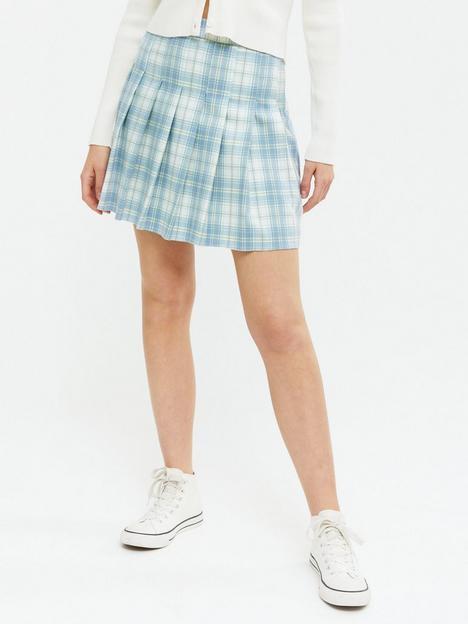 new-look-mariah-check-tennis-skirt-blue-print