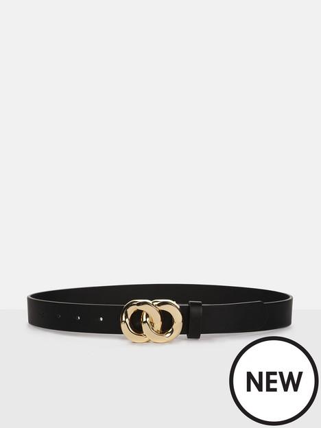 missguided-missguided-interlocking-ring-buckle-punbspwaist-belt-blacknbsp