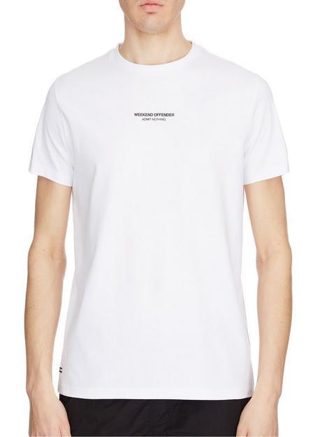 weekend-offender-signature-woan-logo-t-shirt-white