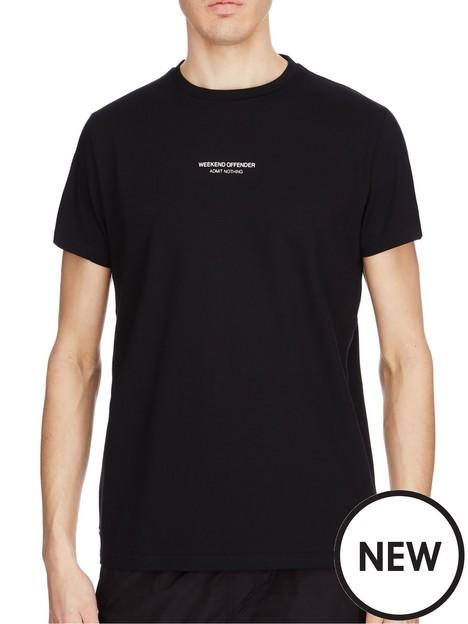 weekend-offender-nbspsignature-woan-logo-t-shirt-black
