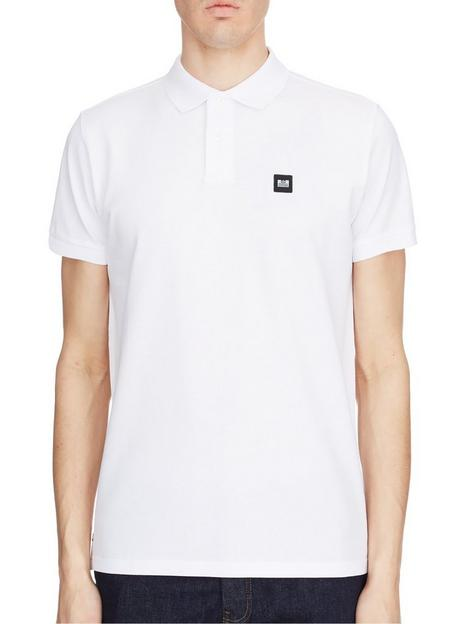 weekend-offender-caneiros-badge-polo-shirt-white
