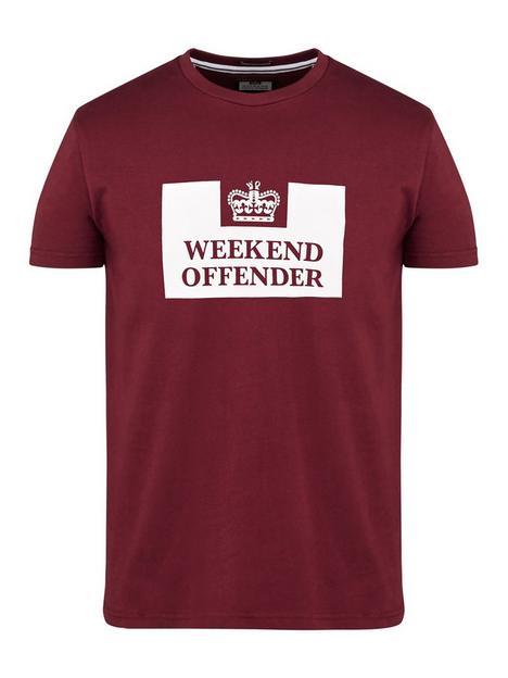 weekend-offender-prison-logo-t-shirt