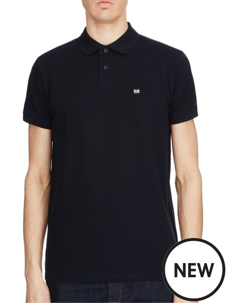 weekend-offender-caneiros-badge-polo-shirt-black