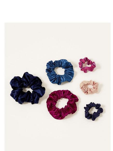 monsoon-girls-school-scrunchies-set-multi