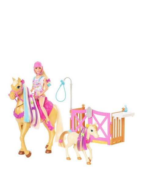 barbie-groom-lsquon-care-playset-with-doll-and-horse-toysnbsp
