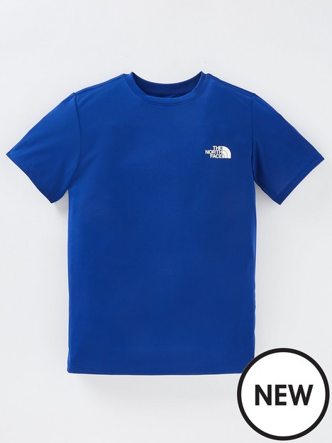 the-north-face-y-ss-reactor-tee-bolt-blue