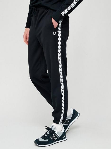 fred-perry-taped-track-pant-black