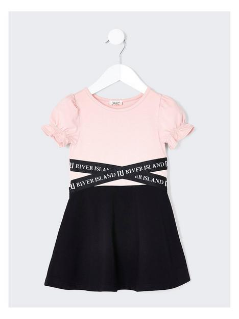 river-island-mini-mini-girls-skater-dress-blackpink