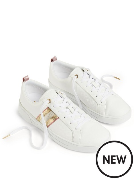 ted-baker-baily-webbing-cupsole-trainer-white