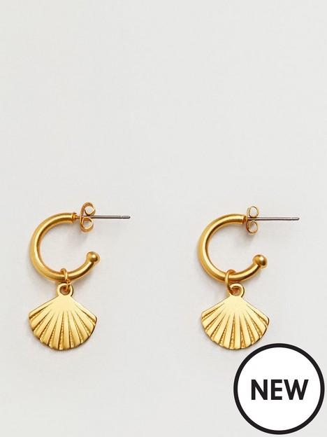 mango-mango-fornells-hoop-earrings
