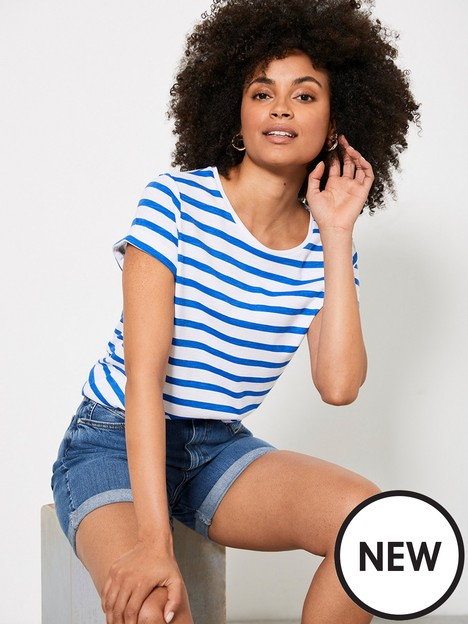 mint-velvet-mint-velvet-blue-stripe-cotton-star-t-shirt