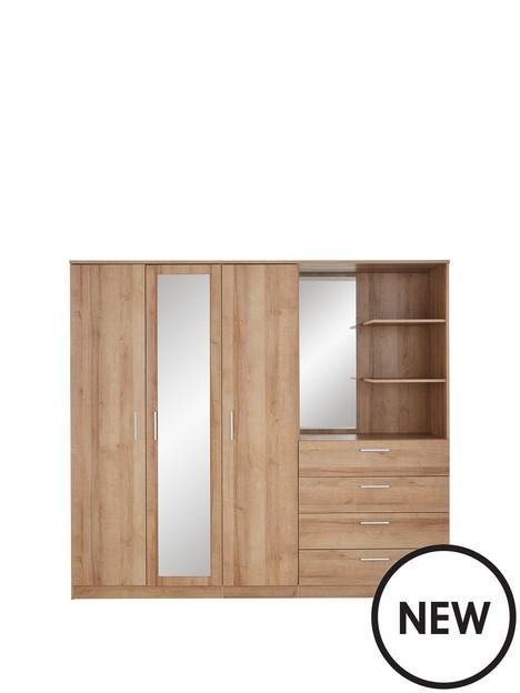 panama-3-door-4-drawer-combi-wardrobe